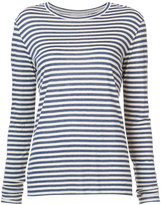 Vince striped top - women - Silk/Viscose - S