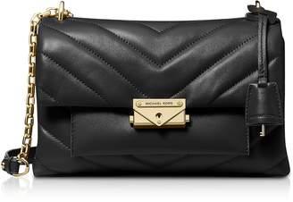 Michael Kors Cece Medium Quilted Leather Convertible Shoulder Bag