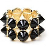"Amrita Singh hampton Spike"""" Resin Stretch Bracelet."