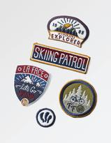 Fat Face Iron On Badge Collection