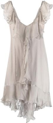 Parlor Ruffled Mini Dress