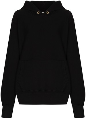LES TIEN Hooded Long-Sleeve Sweatshirt