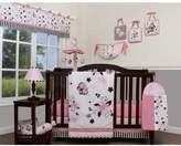 Geenny New Butterfly 13 Piece Crib Bedding Set