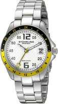 Stuhrling Original Women's 290.12212 Lifestyles Regatta Galleon Swiss Quartz Date Stainless Steel Watch