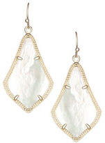 Kendra Scott Alex Rose Quartz Earrings, Rose