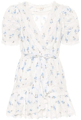 LoveShackFancy Belen floral cotton minidress