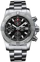Breitling Stainless Steel Avenger II Chronograph Watch 43mm