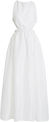 Sir The Label Valetta Silk Maxi Dress
