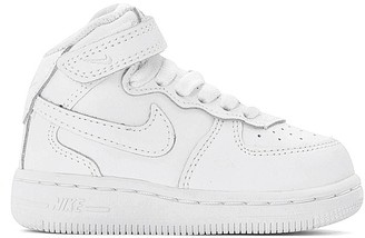Nike Air Force 1 Mid (TD) Toddler High Top Leather Trainers