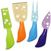 Prodyne Colorful Cheese Knives (Set of 4)
