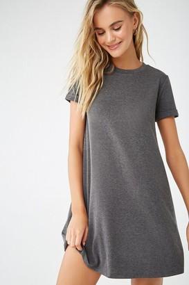 Forever 21 Cuffed T-Shirt Dress