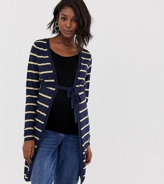 Mama Licious Mamalicious stripe cardigan