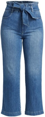 Joe's Jeans The Paperbag Wide-Leg Cropped Jeans