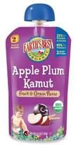 Earth's Best Organic 4.2 oz. Apple Plum Kamut Fruit & Grain Puree