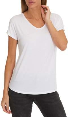 Betty Barclay V-Neck Cap Sleeve T-Shirt, White