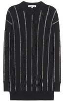 McQ by Alexander McQueen Embellished Wool Sweatshirt