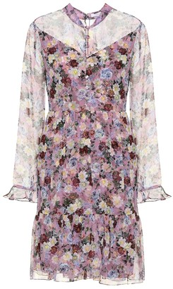Erdem Danielle floral silk minidress