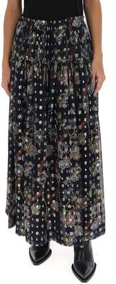 Chloé Floral Maxi Skirt