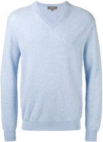 N.Peal V neck sweatshirt - men - Cashmere - XS