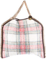 Stella McCartney Plaid Falabella Foldover
