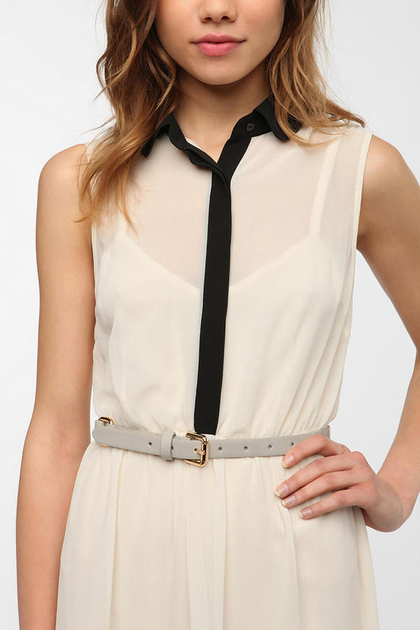 Urban Outfitters Deena & Ozzy Patent Belt