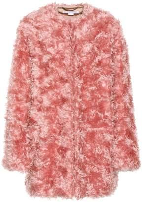 Stella McCartney Mohair-blend coat