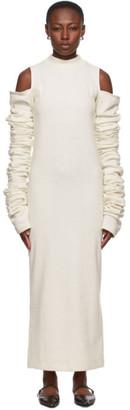 Winnie New York Off-White Long Sleeve Dress
