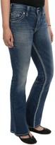 Silver Jeans Suki Flap Jeans - Mid Rise, Bootcut (For Petite Women)