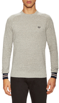 Fred Perry Textured Yarn Pique Crewneck Sweater