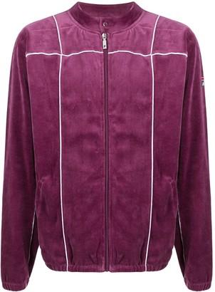 Fila Collarless Velour Track Jacket