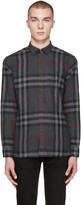 Burberry Grey Check Ecclestone Shirt