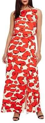 Phase Eight Dorothy Poppy Maxi Dress, Poppy Red