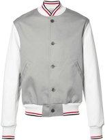 Thom Browne varsity bomber jacket