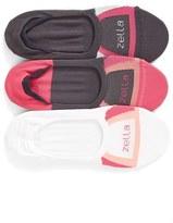 Zella No-Show Sneaker Socks (3-Pack)