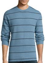 ST. JOHN'S BAY St. John's Bay Long-Sleeve Striped Thermal Shirt