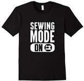 Men's Sewing Mode ON Funny T-Shirt Sewing Machine Small