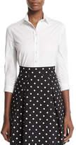 Carolina Herrera Classic Button-Front Shirt