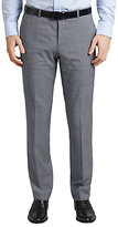 Hugo Boss Hugo By Hugo Boss C-jeffery Textured Wool Regular Fit Suit Trousers, Grey