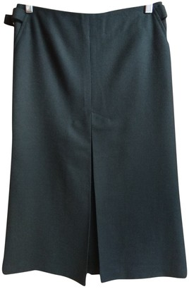 French Connection Black Wool Skirt for Women