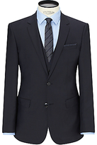 Hugo Boss Hugo Huge/genius Virgin Wool Slim Fit Suit Jacket, Dark Blue