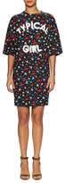 Love Moschino Typical Girl Floral Print Shift Dress