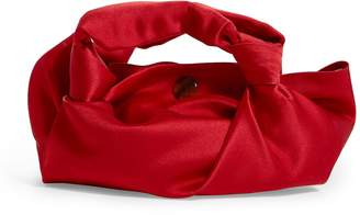 The Row Satin Ascot Knot-Handle Bag