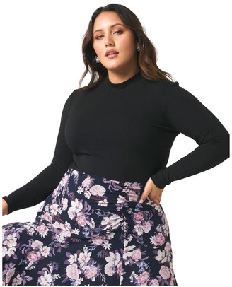 Forever New Curve Ally High Neck Curve Skivvy