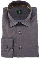 Robert Talbott Solid Woven Dress Shirt, Lagoon