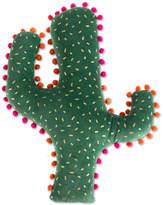 Shiraleah Green Cactus Pillow