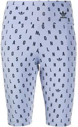 adidas Logo Letter Print Shorts