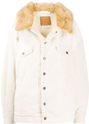 Levi's Contrast Collar Corduroy Jacket