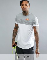 Ellesse Sport Compression T-shirt With Contrast Panel