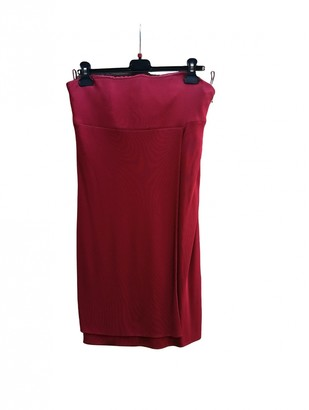 Gianni Versace Red Dress for Women Vintage