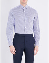 Ralph Lauren Purple Label Aston Striped Slim-fit Pure Cotton Shirt